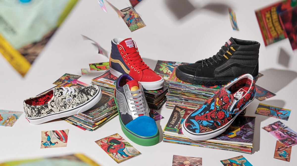 Vans Et Marvel Signent Ensemble Une Collection Exclusive !