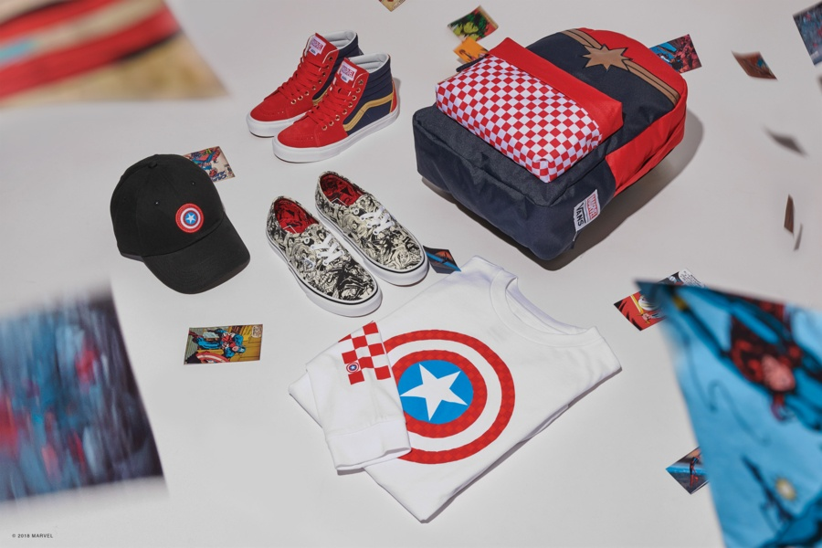 b97f3495515 Children and toddlers also have Vans x Marvel shoes designed especially for  them. Catch Spiderman if you can on the Sk8-Hi Zip and try to find Baby  Groot in ...