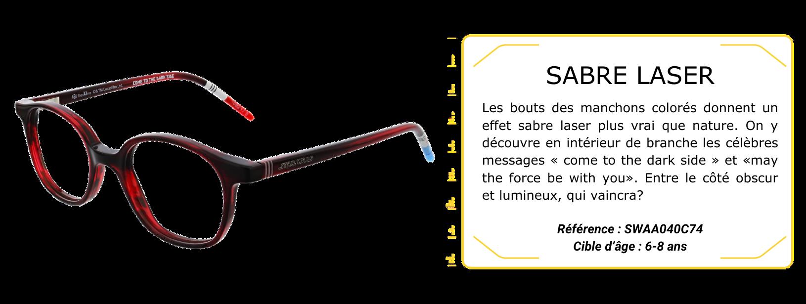 Monture Sabre Laser Ok3